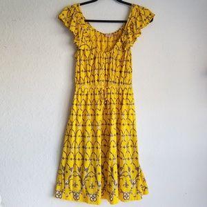 Juicy Couture Dress Medium Yellow Sun Dress
